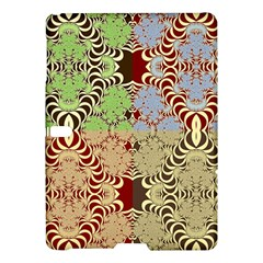 Multicolor Fractal Background Samsung Galaxy Tab S (10.5 ) Hardshell Case
