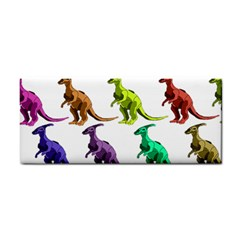 Multicolor Dinosaur Background Cosmetic Storage Cases