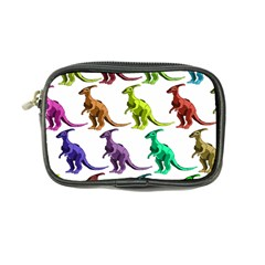 Multicolor Dinosaur Background Coin Purse