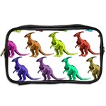 Multicolor Dinosaur Background Toiletries Bags 2-Side Back