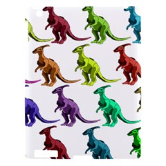 Multicolor Dinosaur Background Apple Ipad 3/4 Hardshell Case