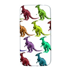 Multicolor Dinosaur Background Samsung Galaxy S4 I9500/i9505  Hardshell Back Case