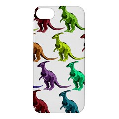 Multicolor Dinosaur Background Apple Iphone 5s/ Se Hardshell Case