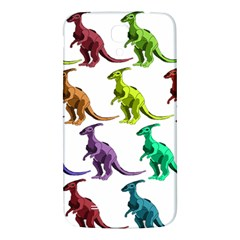 Multicolor Dinosaur Background Samsung Galaxy Mega I9200 Hardshell Back Case