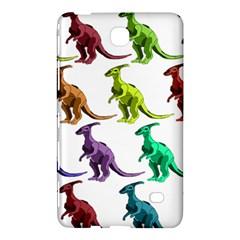 Multicolor Dinosaur Background Samsung Galaxy Tab 4 (7 ) Hardshell Case