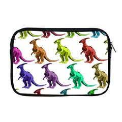 Multicolor Dinosaur Background Apple Macbook Pro 17  Zipper Case