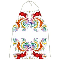 Fractal Kaleidoscope Of A Dragon Head Full Print Aprons