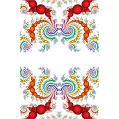 Fractal Kaleidoscope Of A Dragon Head 5 5  X 8 5  Notebooks