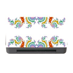 Fractal Kaleidoscope Of A Dragon Head Memory Card Reader With Cf