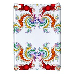 Fractal Kaleidoscope Of A Dragon Head Apple iPad Mini Hardshell Case