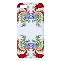 Fractal Kaleidoscope Of A Dragon Head Apple Iphone 5 Premium Hardshell Case