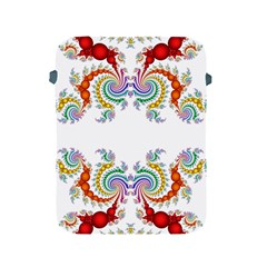 Fractal Kaleidoscope Of A Dragon Head Apple Ipad 2/3/4 Protective Soft Cases
