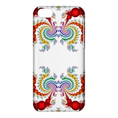 Fractal Kaleidoscope Of A Dragon Head Apple Iphone 5c Hardshell Case