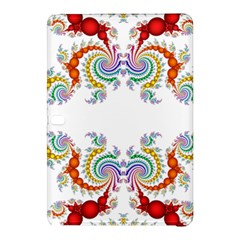 Fractal Kaleidoscope Of A Dragon Head Samsung Galaxy Tab Pro 10 1 Hardshell Case