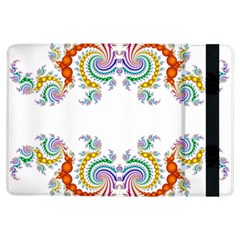Fractal Kaleidoscope Of A Dragon Head Ipad Air Flip