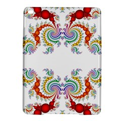 Fractal Kaleidoscope Of A Dragon Head iPad Air 2 Hardshell Cases