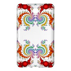 Fractal Kaleidoscope Of A Dragon Head Samsung Galaxy Tab 4 (8 ) Hardshell Case