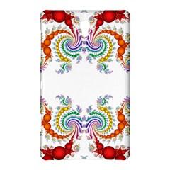 Fractal Kaleidoscope Of A Dragon Head Samsung Galaxy Tab S (8.4 ) Hardshell Case