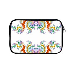Fractal Kaleidoscope Of A Dragon Head Apple Macbook Pro 13  Zipper Case