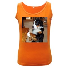 Bernese Mountain Dog Begging Women s Dark Tank Top