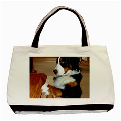 Bernese Mountain Dog Begging Basic Tote Bag