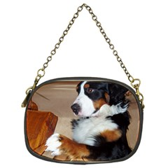 Bernese Mountain Dog Begging Chain Purses (Two Sides)