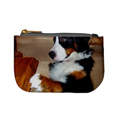 Bernese Mountain Dog Begging Mini Coin Purses