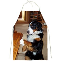 Bernese Mountain Dog Begging Full Print Aprons