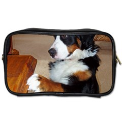Bernese Mountain Dog Begging Toiletries Bags