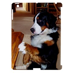 Bernese Mountain Dog Begging Apple iPad 3/4 Hardshell Case (Compatible with Smart Cover)