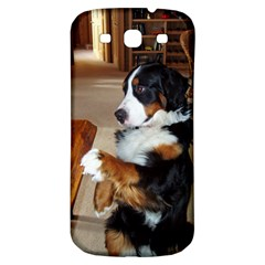 Bernese Mountain Dog Begging Samsung Galaxy S3 S III Classic Hardshell Back Case