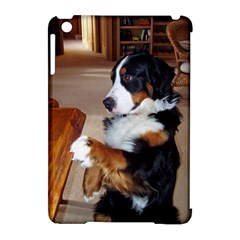 Bernese Mountain Dog Begging Apple iPad Mini Hardshell Case (Compatible with Smart Cover)