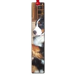 Bernese Mountain Dog Begging Large Book Marks