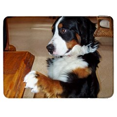 Bernese Mountain Dog Begging Samsung Galaxy Tab 7  P1000 Flip Case