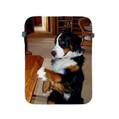 Bernese Mountain Dog Begging Apple iPad 2/3/4 Protective Soft Cases