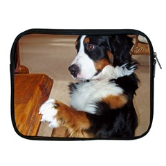 Bernese Mountain Dog Begging Apple iPad 2/3/4 Zipper Cases