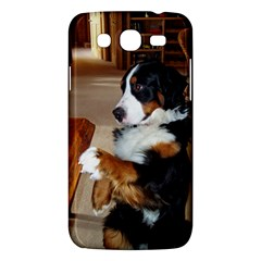 Bernese Mountain Dog Begging Samsung Galaxy Mega 5.8 I9152 Hardshell Case