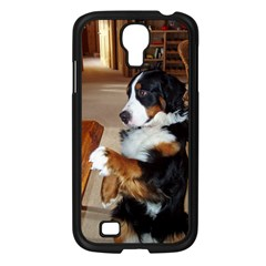 Bernese Mountain Dog Begging Samsung Galaxy S4 I9500/ I9505 Case (Black)
