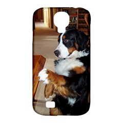Bernese Mountain Dog Begging Samsung Galaxy S4 Classic Hardshell Case (PC+Silicone)