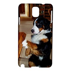 Bernese Mountain Dog Begging Samsung Galaxy Note 3 N9005 Hardshell Case