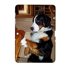 Bernese Mountain Dog Begging Samsung Galaxy Tab 2 (10.1 ) P5100 Hardshell Case