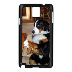 Bernese Mountain Dog Begging Samsung Galaxy Note 3 N9005 Case (Black)