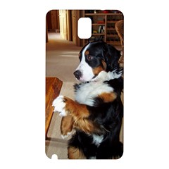 Bernese Mountain Dog Begging Samsung Galaxy Note 3 N9005 Hardshell Back Case