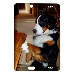 Bernese Mountain Dog Begging Amazon Kindle Fire HD (2013) Hardshell Case