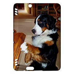 Bernese Mountain Dog Begging Kindle Fire HDX Hardshell Case