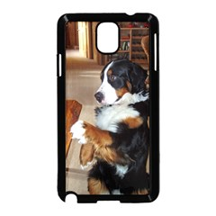 Bernese Mountain Dog Begging Samsung Galaxy Note 3 Neo Hardshell Case (Black)