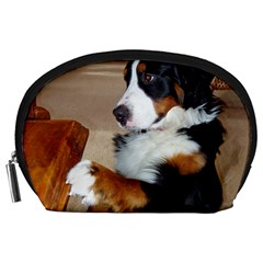 Bernese Mountain Dog Begging Accessory Pouches (Large)