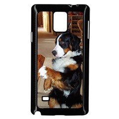 Bernese Mountain Dog Begging Samsung Galaxy Note 4 Case (Black)