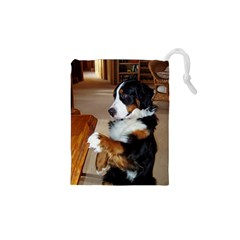 Bernese Mountain Dog Begging Drawstring Pouches (XS)