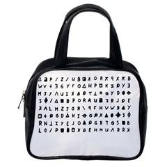 Zodiac killer  Classic Handbags (One Side)